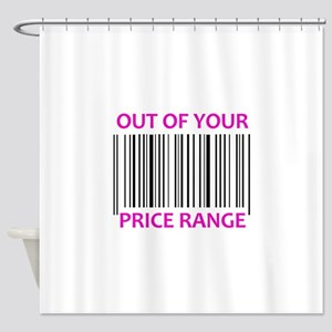 YOUR PRICE RANGE Shower Curtain