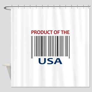 PRODUCT OF THE USA Shower Curtain