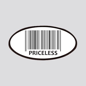 PRICELESS BAR CODE Patch