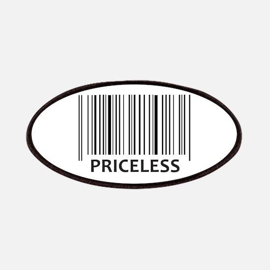 PRICELESS BAR CODE Patch