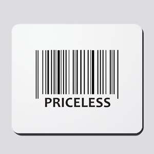 PRICELESS BAR CODE Mousepad