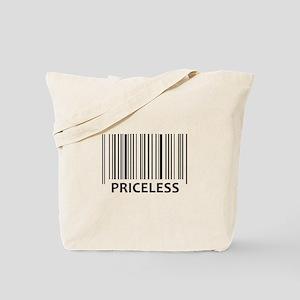 PRICELESS BAR CODE Tote Bag