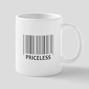 PRICELESS BAR CODE Mugs