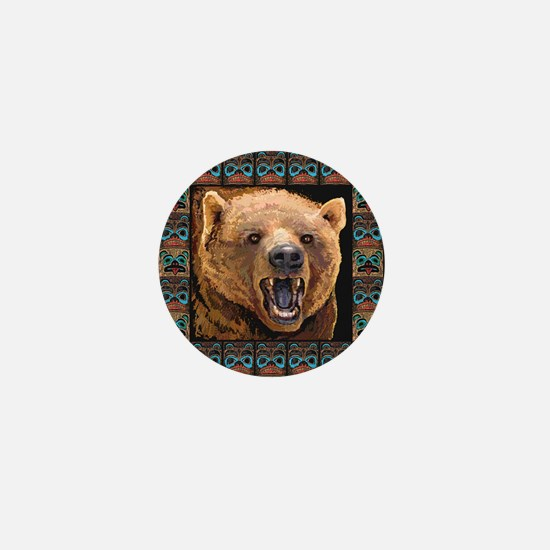 GRIZZLY BEAR Mini Button