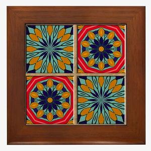 SANTA FE TILES Framed Tile