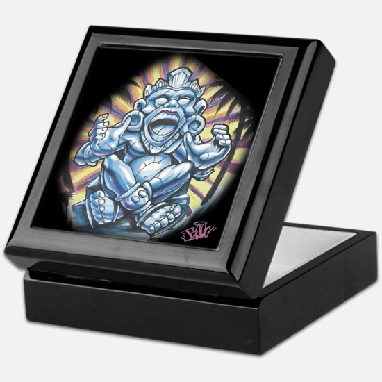 Warrior Aztec Tattoo Keepsake Box