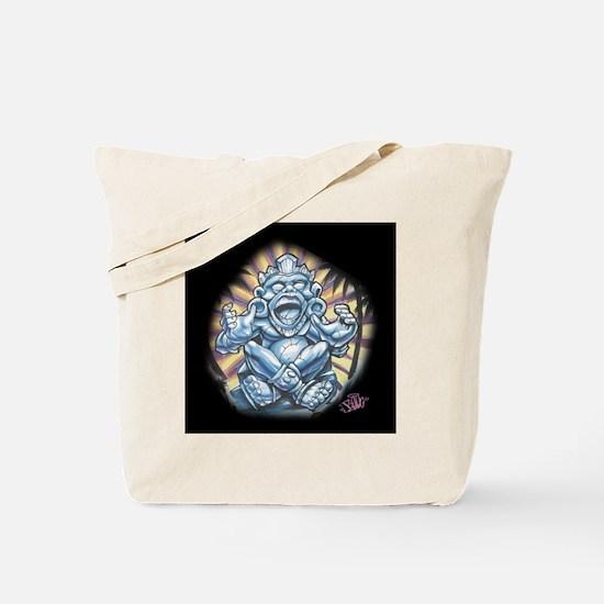 Warrior Aztec Tattoo Tote Bag