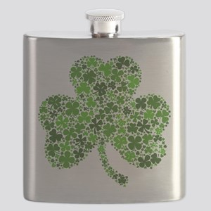 Shamrock of Shamrocks Flask
