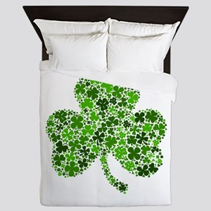 Shamrock of Shamrocks Queen Duvet