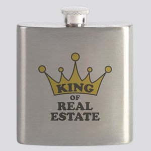 King of Real Estate Flask