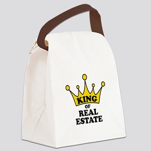 King of Real Estate Canvas Lunch Bag
