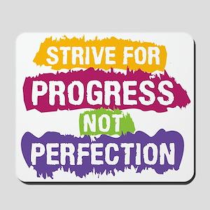 Strive for Progress Mousepad
