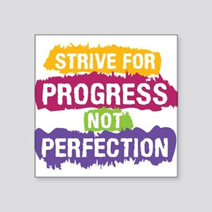 Strive for Progress Sticker