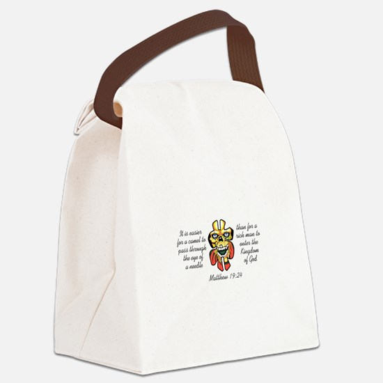 TO ENTER HEAVEN Canvas Lunch Bag