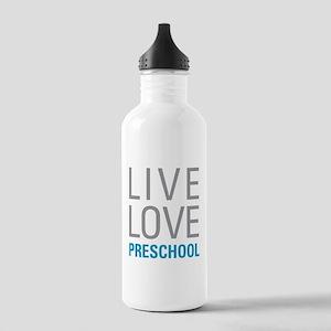 Live Love Preschool Stainless Water Bottle 1.0L