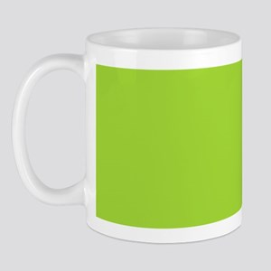 cute Neon Green Mug