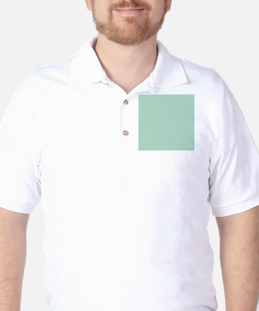 beach seafoam green Golf Shirt