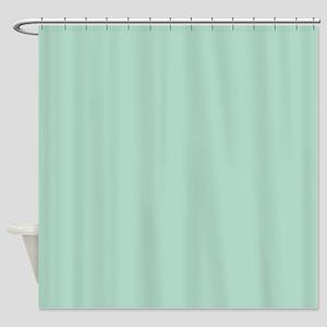 Beach Seafoam Green Shower Curtain