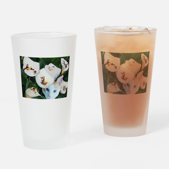 Cala in Callas.png Drinking Glass