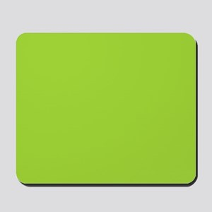 cute Neon Green Mousepad