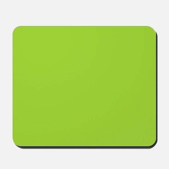 cute Neon Green Mousepad