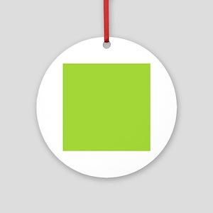 cute Neon Green Ornament (Round)