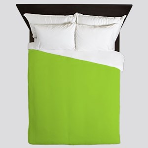 cute Neon Green Queen Duvet