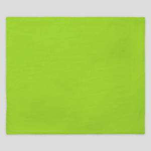 cute Neon Green King Duvet