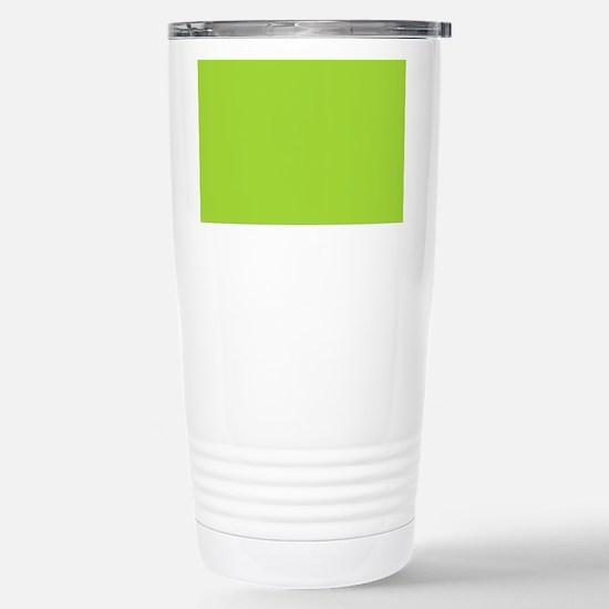cute Neon Green Stainless Steel Travel Mug