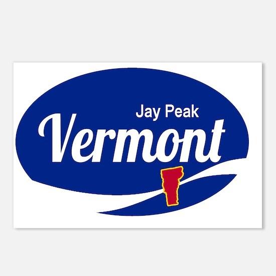 Jay Peak Ski Resort Vermo Postcards (Package of 8)