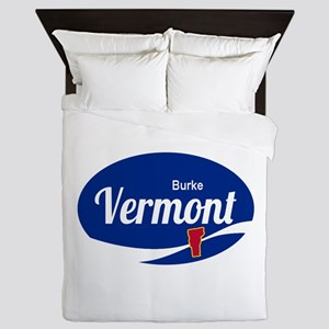 Burke Mountain Ski Resort Vermont Epic Queen Duvet