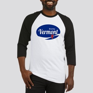 Bromley Mountain Ski Resort Vermon Baseball Jersey