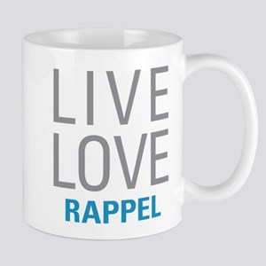 Live Love Rappel Mugs