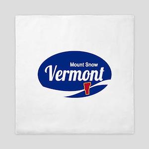 Mount Snow Ski Resort Vermont Epic Queen Duvet