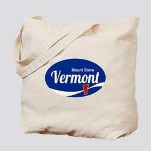 Mount Snow Ski Resort Vermont Epic Tote Bag