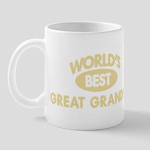 Worlds Best GREAT GRANDPA Mug