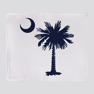 Sc Flag Throw Blanket