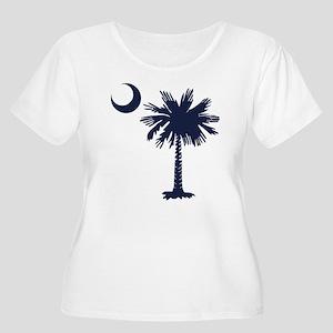 SC Flag Plus Size T-Shirt
