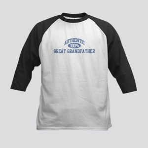 Authentic Great Grandfather Kids Baseball Jersey