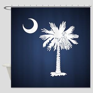 SC Flag Shower Curtain