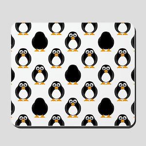 Cute Penguin Pattern Mousepad
