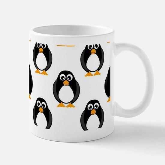 Cute Penguin Pattern Mug