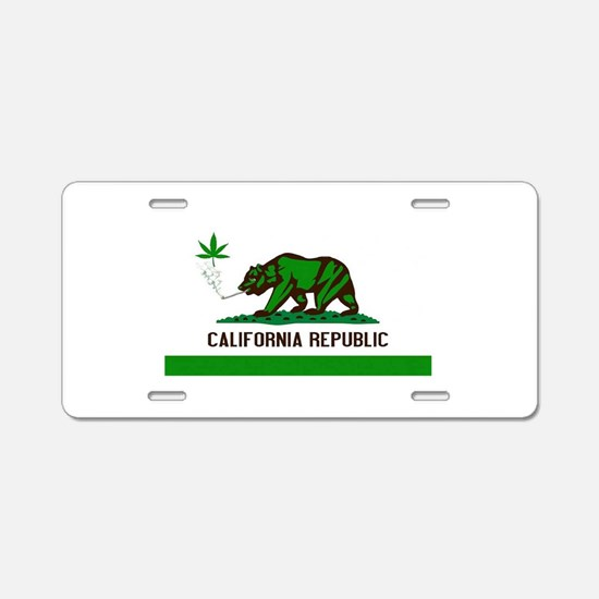 California Cannabis Aluminum License Plate