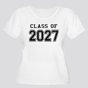 Class of 2027 Plus Size T-Shirt