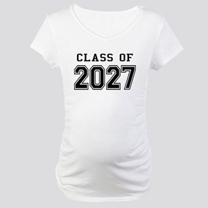Class of 2027 Maternity T-Shirt