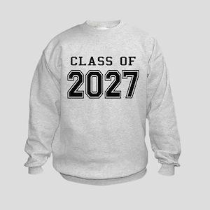 Class of 2027 Kids Sweatshirt