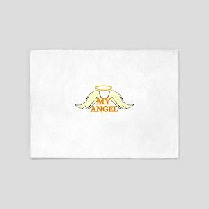 MY ANGEL 5'x7'Area Rug