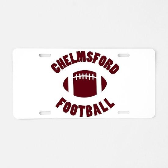 Chelmsford Football Aluminum License Plate