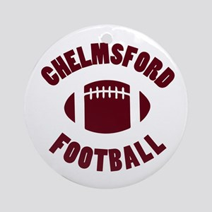 Chelmsford Football Ornament (Round)