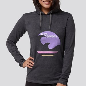 Transparent Cure Epilepsy Long Sleeve T-Shirt